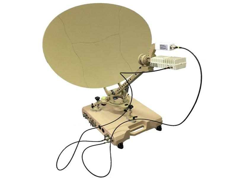 标准轻型卫星便携站